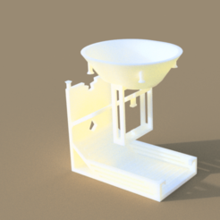 Download OBJ file Impossible Dice Tower • 3D printable template, roy1999