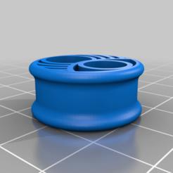 flexearplug_v2.png Télécharger fichier STL Bouchons d'oreille souples 22 mm • Modèle pour imprimante 3D, kipoora