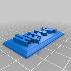 hello_test_2_couleur.png Download free GCODE file test plate • Template to 3D print, jimmy2454