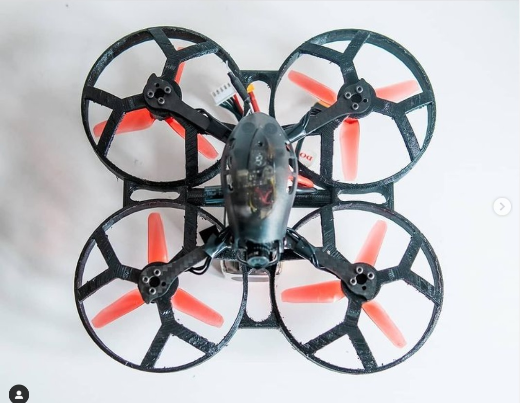 drone2.jpg Download STL file quadcopter drone frame • 3D printable model, wings3d