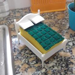 20200521_122108.jpg Download STL file Sponge bed • 3D printer template, wings3d