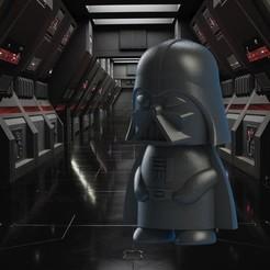 Darth vader en la nave.jpeg.JPG Download STL file Darth Vader • Design to 3D print, wings3d