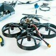 drone3.jpg Download STL file quadcopter drone frame • 3D printable model, wings3d