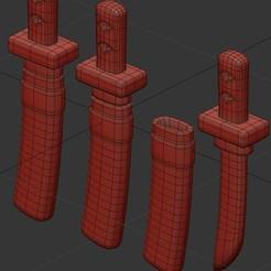 Sin título-1.jpg Download STL file Ninja Fall Guys By Larmaries Sable • 3D print design, Larmaries