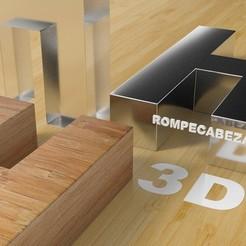 003.jpg Télécharger fichier STL gratuit Puzzle H / H • Plan pour imprimante 3D, Larmaries