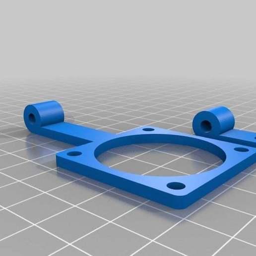 customizable_fan_mount_20140612-30366-zihg19-0.jpg Download free STL file My Customized Fan Mounting Bracket • 3D print object, Alejoo