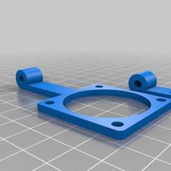 customizable_fan_mount_20140612-30366-zihg19-0.jpg Download free STL file My Customized Fan Mounting Bracket • 3D print object, Alejoo