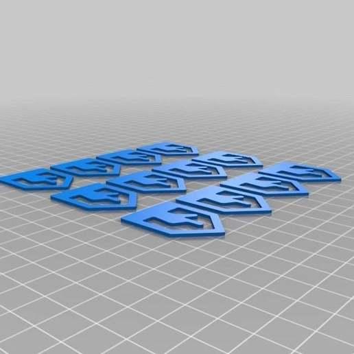 Senalador_Plate.jpg Download free STL file Page Tracker • Design to 3D print, Alejoo
