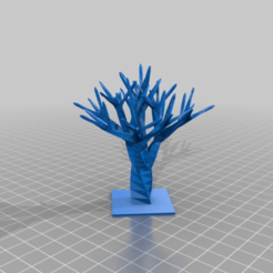 customizable_tree_v1-0_20150223-15522-f068u3-0.png Download free STL file Arbol para arquitectura • 3D printer design, Alejoo