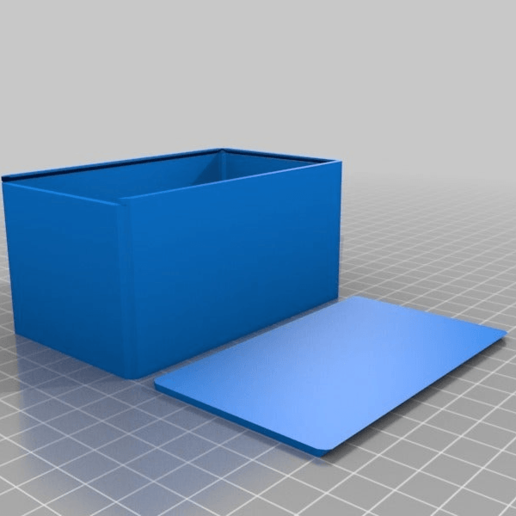 Télécharger fichier STL gratuit 60 x 100 x 50 Boîte • Design à imprimer en 3D, Alejoo