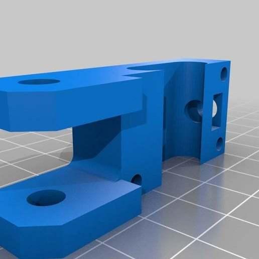 YidlerBody.jpg Download free STL file Y Axis Belt Tenstioner for 606ZZ bearing easy removing for Prusa i3 Hephestos • 3D print design, Alejoo