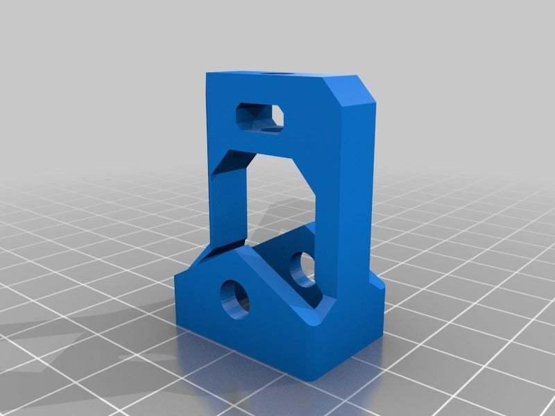 XIdler.jpg Download free STL file X belt tentioner for 606ZZ bearing for the Prusa i3 Hephestos • 3D print model, Alejoo