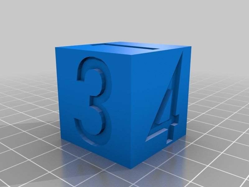 Futura_Dice.jpg Download free STL file futura Dice • 3D printable design, Alejoo