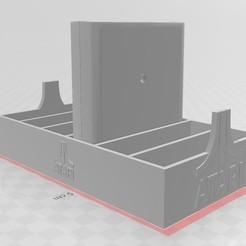 Descargar archivo STL Caja de Cartuchos Atari • Diseño para la impresora 3D, fscotelaro