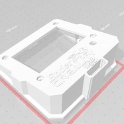 comsuportesd.jpg Télécharger fichier STL Case moldura visor paga gabinete Ender 3 Pro Creality com suporte para Micro SDd • Design pour impression 3D, fscotelaro