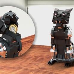 Ravage.jpg Télécharger fichier STL MTMTE RAVAGE UNE TIRELIRE • Design pour imprimante 3D, mmshightail