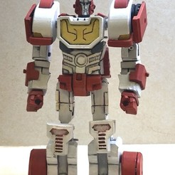 IMG_5682.jpg Download STL file Transformers MTMTE/ IDW Ratchet • 3D printable model, mmshightail