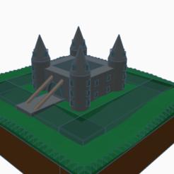 Télécharger fichier STL gratuit château • Objet à imprimer en 3D, daisse