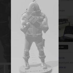 peeli25.jpg Download STL file Snowmando fortnite stand support • 3D printer object, pablocelu2018
