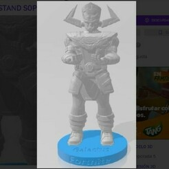 GALAC.jpg Download STL file galactus fortnite stand support • 3D printable object, pablocelu2018