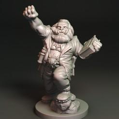 Kark Maghat01.jpg Download free OBJ file Karl Marx Orc • 3D printable object, Davicao