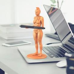 foto_01.jpg Télécharger fichier OBJ Le porte-plume du Capitaine Marvel • Plan pour imprimante 3D, ArturoSyntec