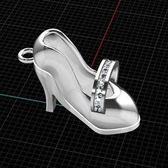 Download free 3D printer designs Shoes 1, hamedblackgold8