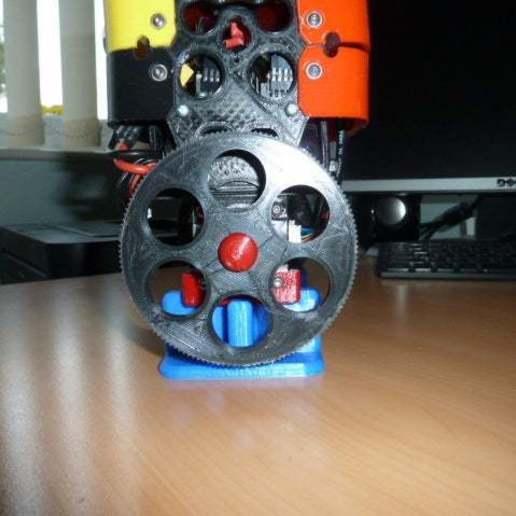 P1020427.JPG Download free SCAD file Alternative wheel for the B-Robot (OpenSCAD) • 3D printing design, david_jenkins