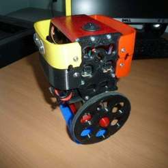 Download free 3D printer designs Alternative wheel for the B-Robot (OpenSCAD), david_jenkins