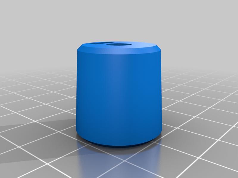 test_hub.png Download free SCAD file Alternative wheel for the B-Robot (OpenSCAD) • 3D printing design, david_jenkins