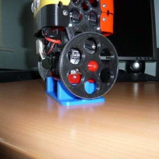 P1020428.JPG Download free SCAD file Alternative wheel for the B-Robot (OpenSCAD) • 3D printing design, david_jenkins