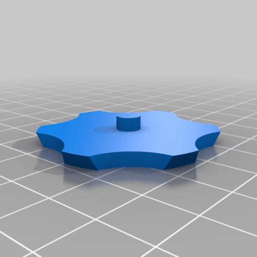 wheel_trim.png Download free SCAD file Alternative wheel for the B-Robot (OpenSCAD) • 3D printing design, david_jenkins