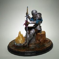 IMG_20201009_133645_1.jpg Download STL file Knight - Dark Souls Style • 3D print object, danielomegaxix