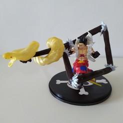 IMG_20200826_131952_1.jpg Download STL file Luffy Snakeman - Fanart Sculpt • Model to 3D print, danielomegaxix