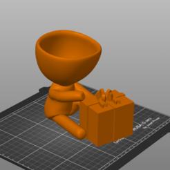 Captura de pantalla 2020-12-04 191624.png Télécharger fichier STL Robert présente Noël • Modèle imprimable en 3D, 3Dimension3d