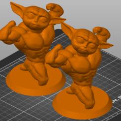 Strong Yoda.png Télécharger fichier STL Grogu Yoda fort • Objet pour impression 3D, 3Dimension3d