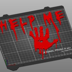 Captura de pantalla 2020-10-15 190944.png Download STL file Help Me Bloddy Hand • 3D printing template, 3Dimension3d