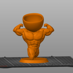 Robert-Strong.png Download STL file Robert Strong • 3D printer template, 3Dimension3d