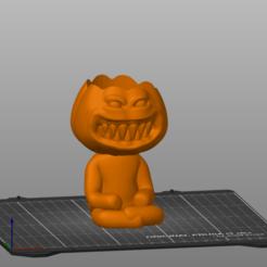 Captura de pantalla 2020-09-19 111245.png Download STL file Robert Pumpkin 1 • 3D print object, 3Dimension3d