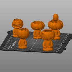 Captura de pantalla 2020-09-19 151208.png Download STL file Robert Pumpink pack 1, 2, 3, 3.1 and 4 HUGE DISCOUNT • 3D printable object, 3Dimension3d