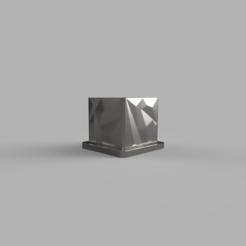 76246ea6-6e31-4fb6-acf4-34cb43aee668.PNG Download free STL file Polygon Flower Pot with Coaster • 3D printing design, dahoooo