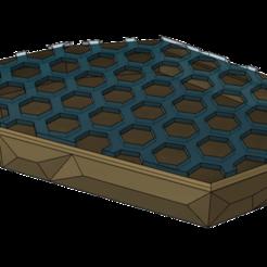 Polygon Soap Holder v11.png Download free STL file Polygon Soap Dish • 3D printable model, dahoooo