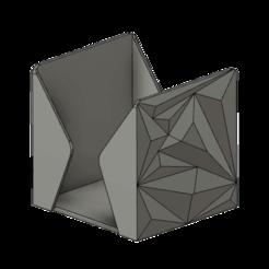 Polygon Note Box v11.png Télécharger fichier STL gratuit Boîte à notes polygonales • Design pour impression 3D, dahoooo