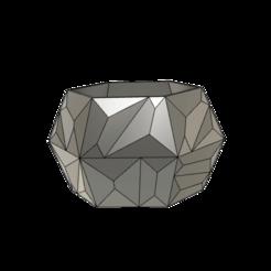 Download free 3D printing designs Polygon Vase, dahoooo