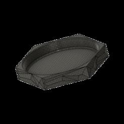 Polygon Coaster v13.png Télécharger fichier STL gratuit Polygone Coaster • Objet imprimable en 3D, dahoooo