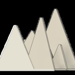 Descargar Modelos 3D para imprimir gratis Montañas del Correo, dahoooo