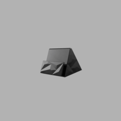 Polygon_Smartphone_Stand_2020-Aug-06_09-39-10PM-000_CustomizedView7325698582.png Download free STL file Polygon Smartphone Stand • 3D printer template, dahoooo