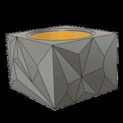 Télécharger STL gratuit Coquetier polygonal, dahoooo