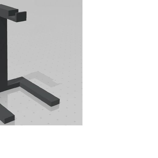 Télécharger plan imprimante 3D gatuit Support pour casque d'écoute, vblank1040