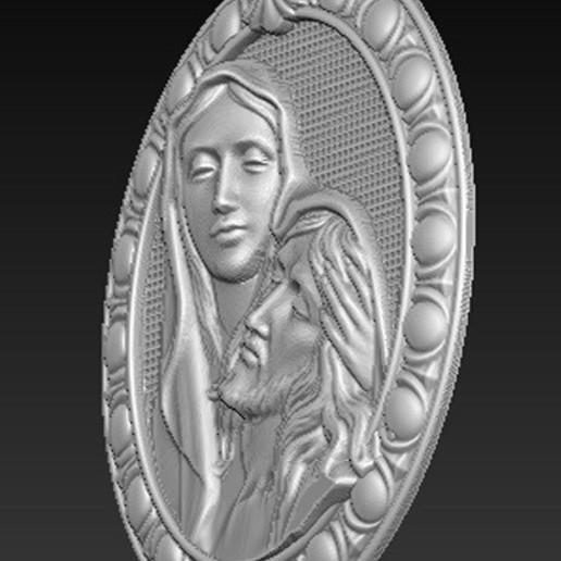 Maria_Christ_03.jpg Télécharger fichier OBJ gratuit Modèle 3D de Jésus-Christ Maria • Modèle pour imprimante 3D, DavidG7